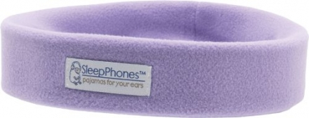 SleepPhones® Wireless Ultra-Comfortable Bluetooth Headband Headphones – Lavender (Medium)