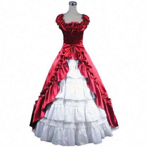 Women Ruffles Palace Gothic Lolita Dress