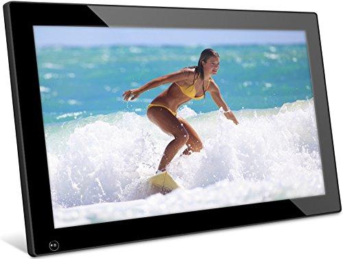 NIX 18.5 inch Hi-Res Digital Photo Frame, with Motion Sensor, 4GB USB Memory, Photo, Video & Music –