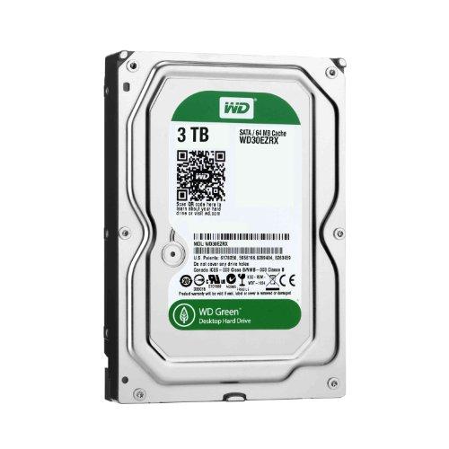 WD Caviar 3TB SATA 6 GB/s 64MB Cache 3.5 inch OEM Internal Hard Drive Green