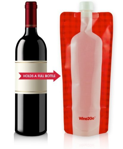 Wine2Go – The Foldable Wine Flask