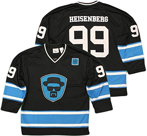 Breaking Bad Heisenberg 99 Official Licensed Breaking Bad Hockey Jersey
