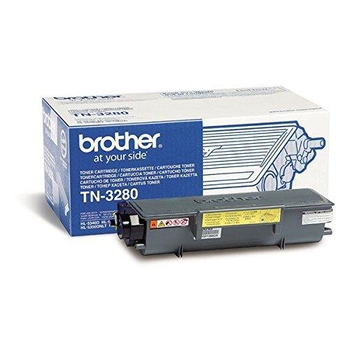 Brother Original TN3280 Black Toner TN3280