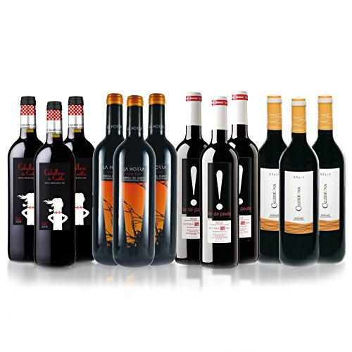 Spanish Red Selection case of 12