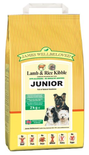 James Wellbeloved Junior Lamb & Rice Kibble