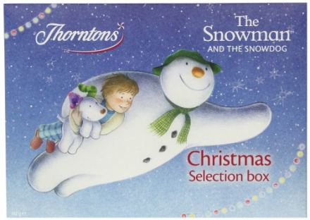 Thorntons – The Snowman and the Snowdog Christmas Selection Box 142g