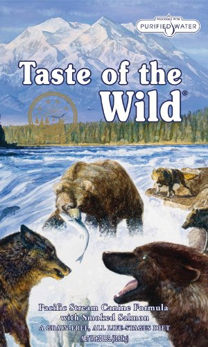 Taste Of The Wild Pacific Stream with Smoked Salmon Dog Food 13.6 Kg