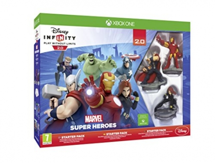 Disney Infinity 2.0 Marvel Superheroes Starter Pack (Xbox One)