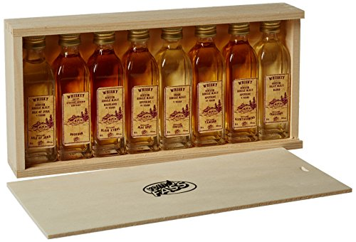 VOM FASS Miniature Whiskey Gift Set 40 ml (Pack of 8)