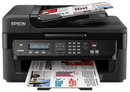 Epson WorkForce WF-2520NF Ultra Compact 4-in-1 Printer with ethernet