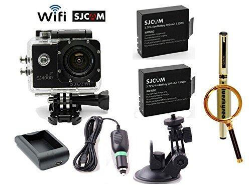 Blueskysea Free Gift Gel Pen + SJCAM SJ4000 WiFi 1080P Full HD Outdoor Sports Digital Action Camera