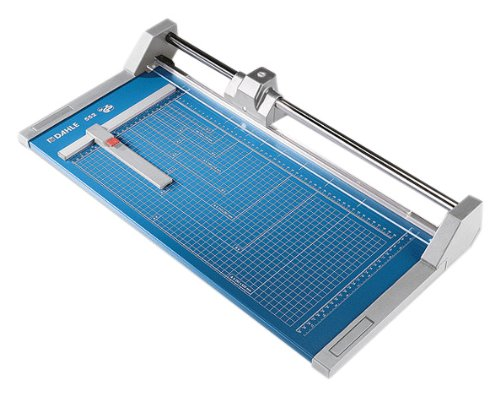 Dahle A3 Professional Trimmer 510mm Cutting Length/ 2mm Cutting Capacity – Blue
