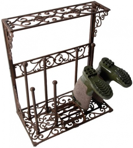 Fallen Fruits LH44 Cast Iron Boot Holder