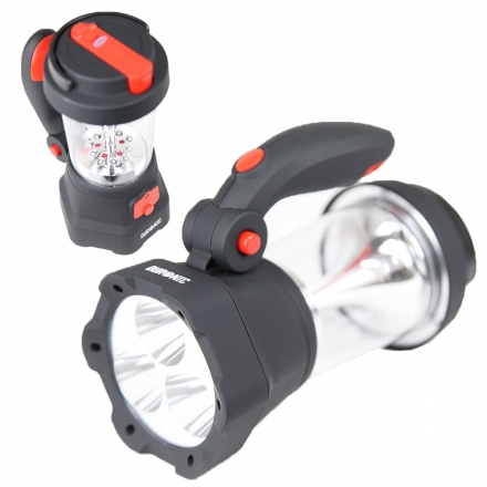 Duronic Hurricane 4 in 1 Rechargeable Wind-Up Lantern and Torch
