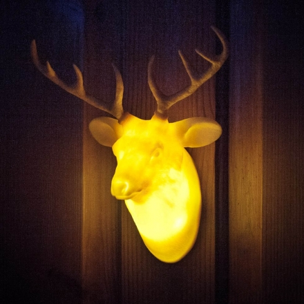 HUNTING TROPHY DOOR LIGHTS