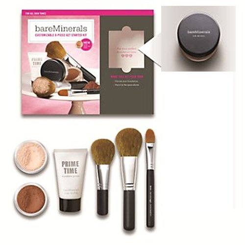 FAIRLY LIGHT BareMinerals 8-Piece Get Started Kit – Set includes: 1x Original Mineral Veil, 1x Warmt