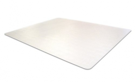 Cleartex Ultimat Polycarbonate 119cm x 89cm Rectangular Chair Mat Floor Protection Mat For Low/Mediu