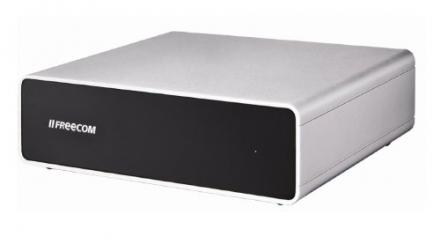 Freecom 56067 2TB Quattro eSATA/FireWire800/USB 3.0 3.5 Inch External Hard Drive