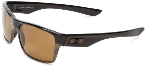 OAKLEY Men's Two Face Sunglasses OS Brown