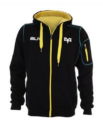 Ospreys 2014/15 Full Zip Rugby Hooded Sweat