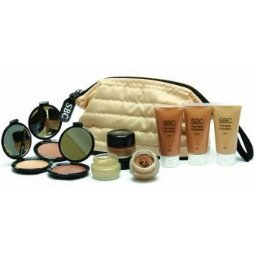 SBC Foundation Make-Up Kit & Cosmetic Bag, for professionals and students, NVQ standard