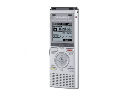 Olympus WS-831 Digital Stereo Voice Recorder with Flash 2GB Memory, WMA, MP3 and Built In USB Key –