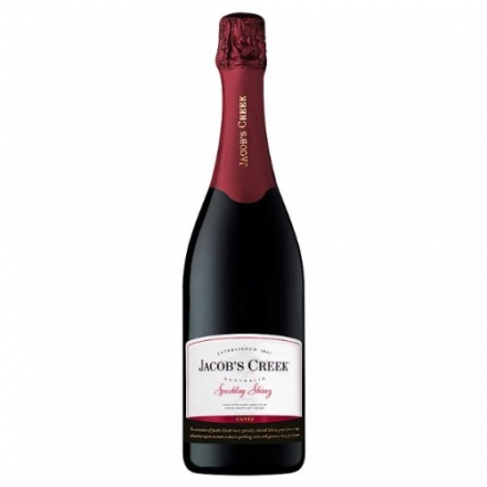 75cl Jacobs Creek Shiraz Sparkling Red Wine (Case of 6)