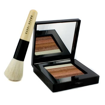 Bobbi Brown – Bronze Shimmer Brick Set: Bronze Shimmer Brick Compact + Mini Face Blender Brush (Limi