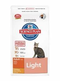 Hill's Feline Light Adult Chicken Dry Mix