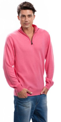 Pink Pullover Jumper for Men – 100% Cashmere – Citizen Cashmere