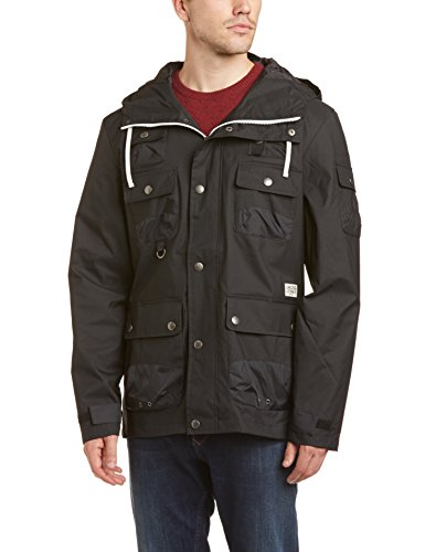 Jack and Jones Men's Gift Short Parka Long Sleeve Jacket
