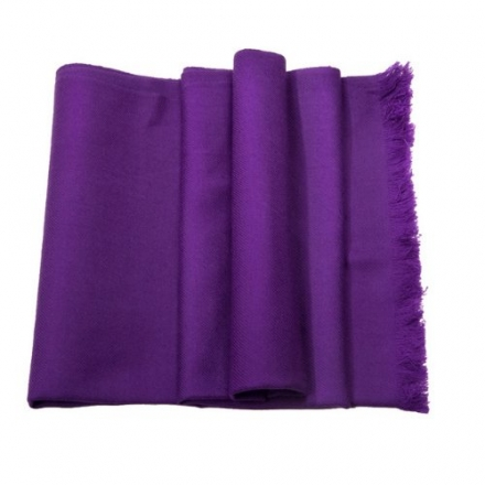 Shawls / scarves / scarf – Elyséa – pure cashmere scarf- purple – French scarf – gift for women