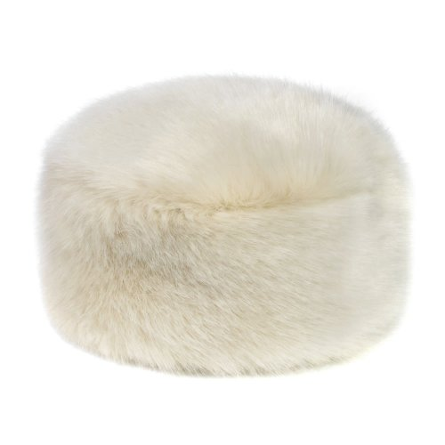 Helen Moore (Moore and Moore) Faux Fur Cossack Russian Style Women's Pillbox Hat (Small/Medium (up t