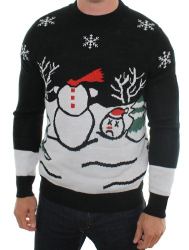 Tipsy Elves Ugly Christmas Jumper – Headless Frosty Jumper