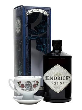 Hendrick's Gin 70cl – Limited Edition – Midnight Tea Party Giftpack