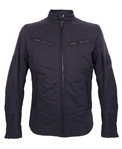 Mens Diesel Jurvilo Padded Bomber Jacket in Navy