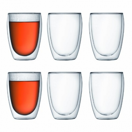 Bodum Pavina 4559-10-12 Set of 6 Pavina Glasses 35 cl