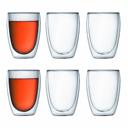 Bodum Pavina 4559-10-12 Set of 6 Pavina Glasses 35 cl