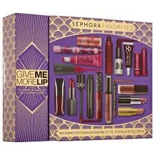 Sephora Favourites Give Me More Lip Kit 17 Items Benefit Hourglass Tarte Too Faced Stila Holiday 201