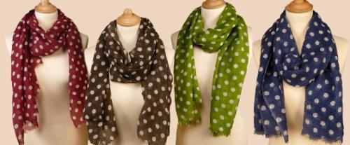 Wool Spot Scarf/Shawl