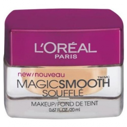 L'Oreal Paris Studio Secrets Professional Magic Smooth Souffle Makeup, Natural Ivory, 20ml