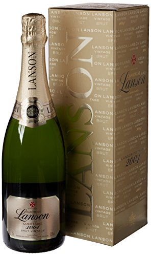 Lanson Gold Label Vintage 2004 in Deluxe Gift Box Champagne 75 cl