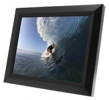 KitVision 20 inch Digital Photo Frame with 1GB of Internal Memory, Built-In Stand and Wall Mount – B