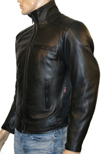 Mens Leather Cowhide CE ARMOURED Motorcycle Jacket – DAYTONA