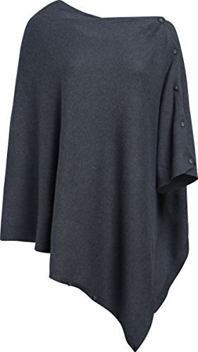 Seasalt Perfect Poncho in Grey (Coal)