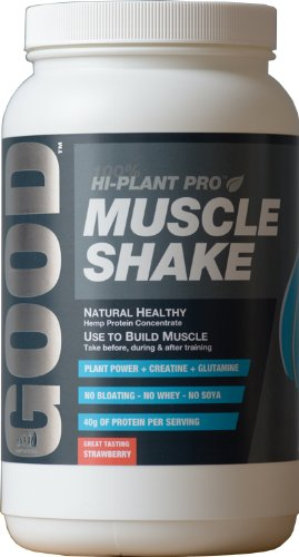 Good Hi Plant Pro Muscle Shake Strawberry 900g
