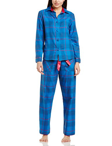 Cyberjammies Women's Sole Statement Check Pyjama Set