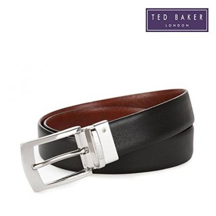 Ted Baker Bluez Reversible Belt Black / Brown