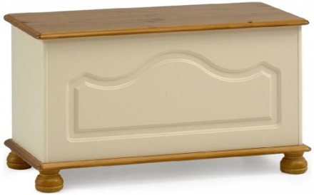 Steens Richmond Ottoman Storage Chest, Cream