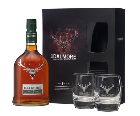 Dalmore 15 Gift pack